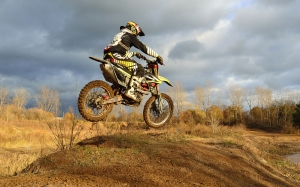 dirt bike, motorcycle, jump, autumn, bike, race, speed, motorbike, motocross, motor, transportation, track, extreme, sport, competition, cycle, moto, racer, rider, riding, outdoor, active,
