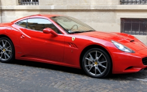 ferrari california, red, auto, sports car, car, automobile, speed, design, italian, luxury, power, coupe, fast, road, expensive