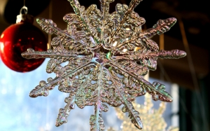 christmas, holiday, christmas ornaments, ball, snowflake