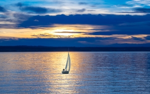 sailing boat, lake, sailing, boot, water, sail, water sports, leisure, hobby, abendstimmung, boat trip, sunset, dramatic sky, blue, wind power, mood, sky, nature, leisure sailors, evening sky, lake constance, lighting, sport
