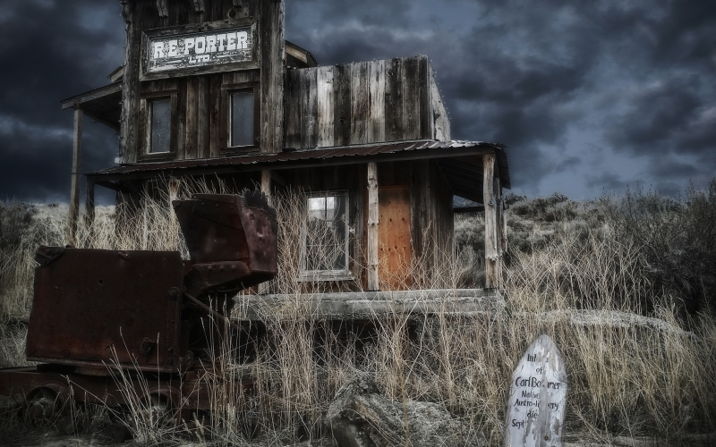 ghost town, forgotten place, wild west, village, old, wood, building, house, empty, decay, abandoned, rural, deserted, dilapidated, grave, board, mine, iron, wagon, rusty, ghostly, mystic, shack, aged, antique, countryside, landscape