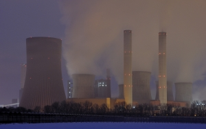 coal fired power plant, nuclear power plant, nuclear reactors, cooling tower, industry, current, energy, power plant, electricity, high voltage, technology, dusk, power supply