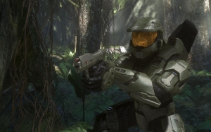 halo 3, bungie, screenshot, master chief, video games