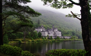castle, kylemore, abbey, connemara county, galway, ireland