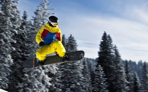 snowboard, winter, sport