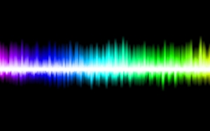background, rainbow, sound, wave, soundwaves, black, gradient, music, audio