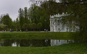 architecture, spring, trees, may, moscow, park, landscape, nature, pond