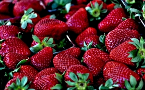 strawberry, macro, berries, berry