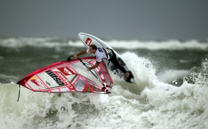 sports, windsurfing, wave