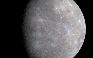Mercury, space, planet
