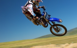 motorcycle, rider, racer, racing, jump, tricks, sports, motocross