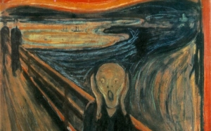 Scream, Edvard Munch, painting, expressionism