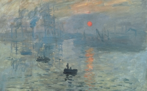 Oscar-Claude Monet, Impression, Sunrise, painting, impressionism