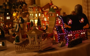 christmas, xmas, collectables, village