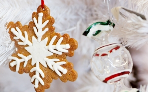 balls, celebration, christmas, decoration, decorations, festive, food, holiday, ornament, ornaments, seasonal, tree, white, xmas