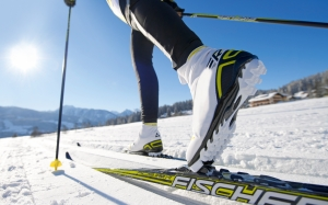 skiing, winter, landscape, mountain, leisure, sports