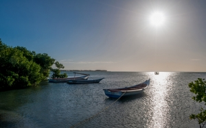 El Guamache Bay, Margarita island, nature, sun, sea, ocean, water, boats