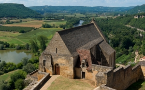 architecture, history, Dordogne river, chapel, France