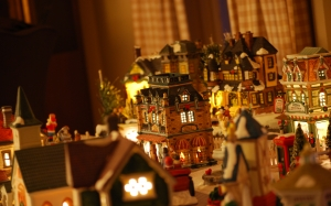 christmas, xmas, collectables, village, decorative