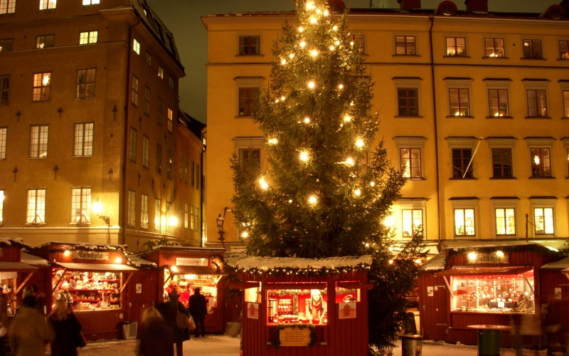 Christmas, Xmas, holidays, New Year, City, cities, winter, Stockholm, Sweden