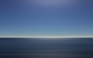 ocean, sky, blue, calm, horizon, surface, quiet, sea, marine, peaceful, seascape, abstract