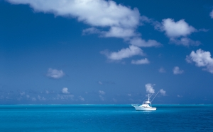 sea, ocean, yacht, sky, vacation, vehicle, boat