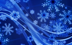 New year, Christmas, Xmas, holidays, snowflakes, background