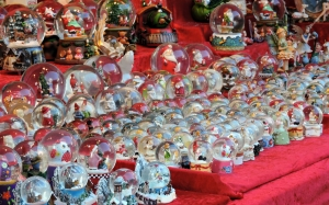 New year, Christmas, Xmas, holidays, christmas market, christmas market, decorations, snow globes