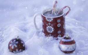 christmas, holiday, snow, card, decoration, season, xmas, greeting, decor, winter