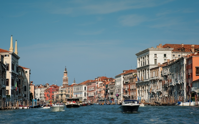 italy, venice, canale grande, architecture, city, water, boats