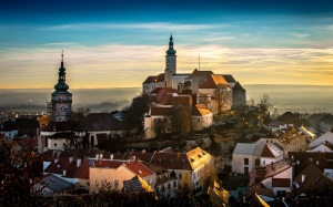 city, old, architecture, czech republic, old building, tower, mikulov, history, castle, monument