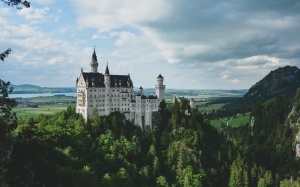 neuschwanstein castle, schwangau, germany, history, architecture