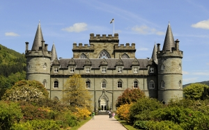 inveraray castle, argyll and bute, scotland, architecture