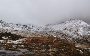 nature, mountains, snow, clouds, landscape, winter, penrith