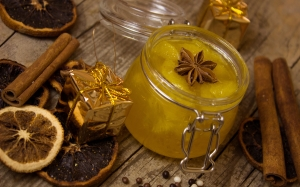 jam, cinnamon, anise, orange marmalade, compote, decoration, christmas, xmas