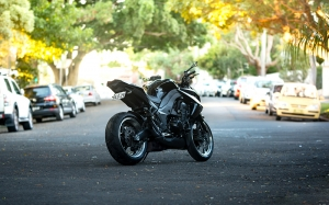 motorbike, motorcycle, road, street, vehicles