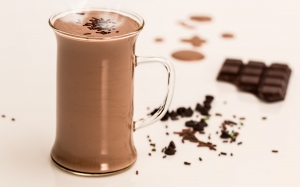 hot chocolate, drink, winter, milk, sweet, cocoa, hot, beverage, warm, tasty, cacao, glass, cup