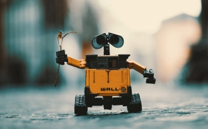 wall-e, robot, toy, android, future, technology
