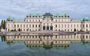 castle, belvedere, vienna, architecture, history, palace
