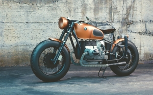 bmw, vehicle, bike, motorcycle, motobike, vehicle, old