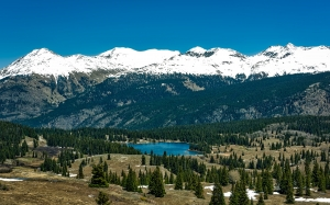 colorado, lake molas, mountains, valley, forest, trees, woods, landscape, scenic, nature, outdoors, country, rural, wilderness