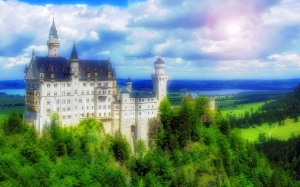 castle, fairy tale, kingdom, medieval, royal, history, palace, architecture, noyshvastein