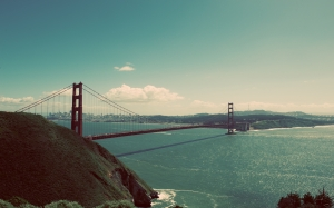 bridge, golden gate, ocean, sea, suspension bridge, water, bay, san francisco