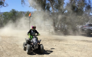 atv, quad, motocross, motorsports, rider, dust, motorcycle, sand, sports