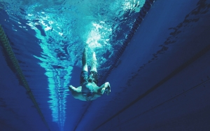 athlete, diver, diving, man, person, sports, swimmer, swimming, swimming pool, underwater