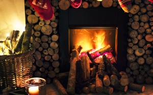 basket, burn, burning, christmas, decoration, fire, fireplace, firewoods, flame, heat, holiday, home, socks, xmas, holiday