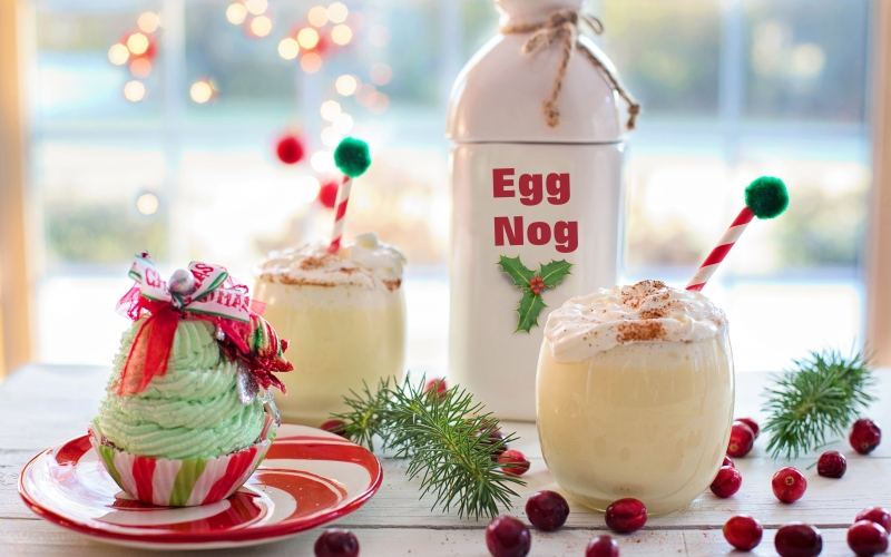 egg nog, christmas, drink, eggnog, xmas, cinnamon, festive, holiday, sweet, beverage, celebration, delicious, seasonal, nutmeg, sweets