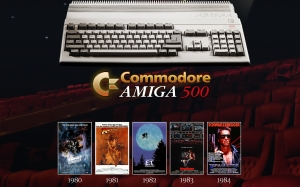 amiga posters, retro computers, old computers, retro posters, home computers, Amiga 500