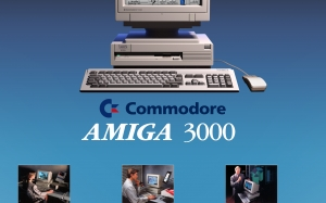 amiga posters, retro computers, amiga 3000, old computers, retro posters, home computers