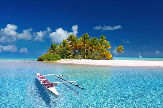 french polynesia, tahiti, south sea, island, fakarava, atol, paradise, dream, beach, travel, pacific, sea, palm trees, nature, deserted island, sand, water, landscape, relaxation